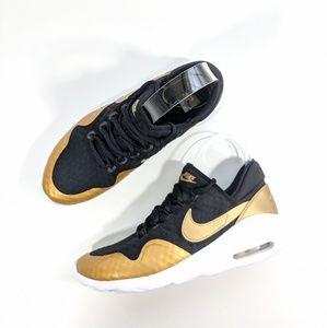 NEW Nike Women Air Max Sasha Black/Gold Women's 8
